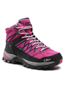 CMP CMP Trekkingi Rigel Mid Wmn Trekking Shoe Wp 3Q12946 Różowy