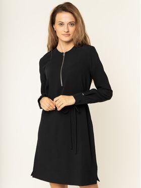 Calvin Klein Calvin Klein Sukienka codzienna Travel Crepe K20K201542 Czarny Regular Fit