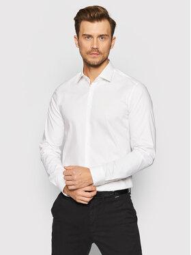 Calvin Klein Calvin Klein Košile K10K108229 Bílá Slim Fit