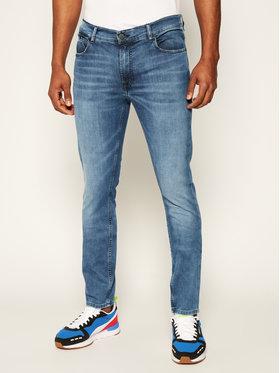 KARL LAGERFELD Slim fit džínsy 5-Pocket 265801 501833 Modrá Slim Fit