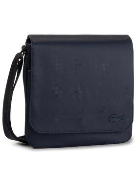 Lacoste Lacoste Sacoche Flap Crossover Bag NH2341HC Bleu marine