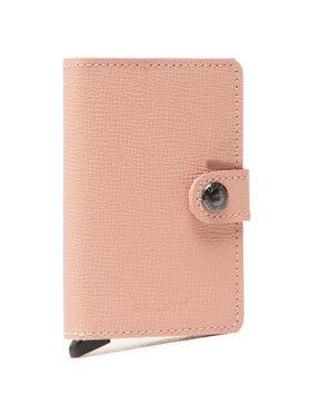 Secrid Secrid Malá dámska peňaženka Miniwallet MC Ružová