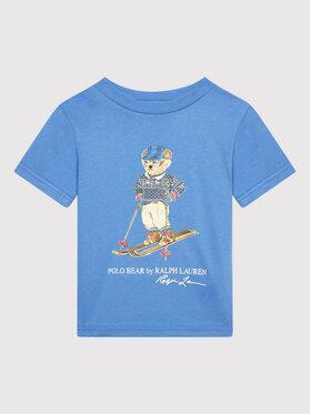 Polo Ralph Lauren Polo Ralph Lauren T-Shirt Classics 321853790004 Niebieski Regular Fit