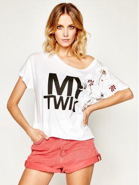 My Twin My Twin Tunika 201MT2302 Biały Regular Fit