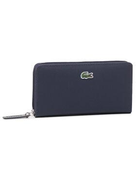 Lacoste Lacoste Portafoglio grande da donna L Zip Wallet NF2900PO Blu scuro