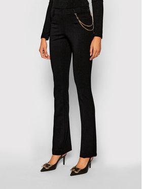 Liu Jo Liu Jo Текстилни панталони CF0052 J1857 Черен Regular Fit