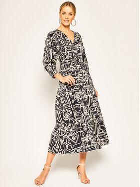 Marella Marella Hétköznapi ruha Rancio 32212402 Sötétkék Regular Fit
