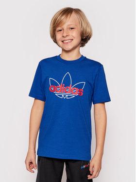 adidas adidas T-shirt Sprt Collection Graphic GN2299 Blu Regular Fit