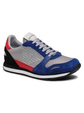 Emporio Armani Sneakersy X4X537 XM678 N641 Sivá
