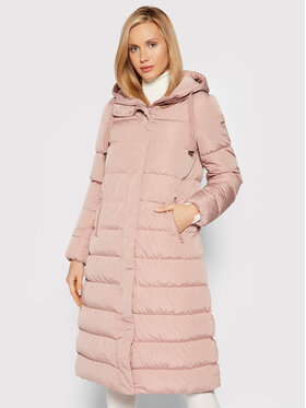 Geox Geox Płaszcz zimowy W Anylla W1428E T2604 F8246 Różowy Regular Fit