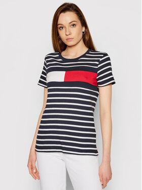 Tommy Hilfiger Tommy Hilfiger T-shirt Abo Flag WW0WW32439 Blu scuro Regular Fit