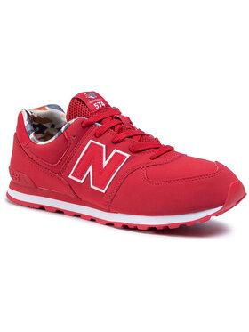 New Balance New Balance Sneakersy GC574GYI Červená