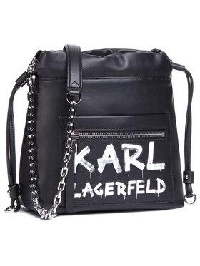 KARL LAGERFELD KARL LAGERFELD Дамска чанта 206W3074 Черен