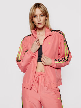 adidas adidas Суитшърт Fakten Track GN4395 Розов Standard Fit