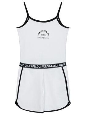 KARL LAGERFELD KARL LAGERFELD Ολόσωμη φόρμα Z14158 S Λευκό Regular Fit