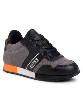 Boss Boss Sneakersy J29225 S Sivá