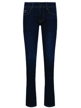 Pepe Jeans Pepe Jeans Jeansy Slim Fit Emerson PB201221 Granatowy Slim Fit