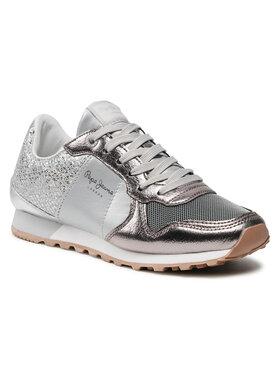 Pepe Jeans Pepe Jeans Sneakers Verona W Blom PLS30798 Argintiu