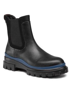 Calvin Klein Calvin Klein Kotníková obuv s elastickým prvkem Lann B4E5430 Černá