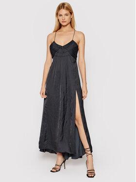 Zadig&Voltaire Zadig&Voltaire Повсякденна сукня Rayonne WKCP0405F Чорний Regular Fit