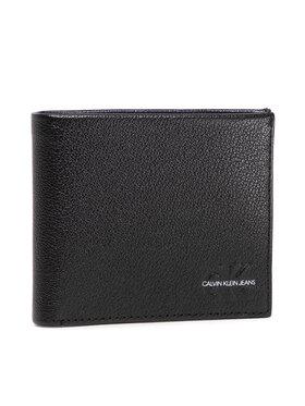 Calvin Klein Jeans Calvin Klein Jeans Duży Portfel Męski Micro Pebble Billfold W/Coin 10C K50K507238 Czarny