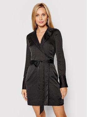 Guess Guess Koktejlové šaty W1GK02 RD8G2 Černá Regular Fit