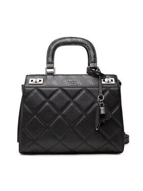 Guess Guess Дамска чанта Katey HWQN78 70280 Черен