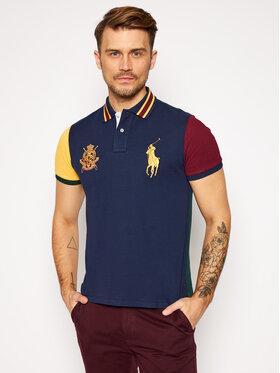 Polo Ralph Lauren Polo Ralph Lauren Тениска с яка и копчета 710814767001 Цветен Custom Slim Fit