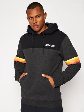 Rip Curl Rip Curl Μπλούζα Mama Stacked CFEXZ4 Μαύρο Relaxed Fit