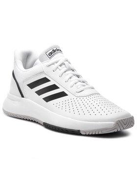 adidas adidas Topánky Courtsmash F36718 Biela