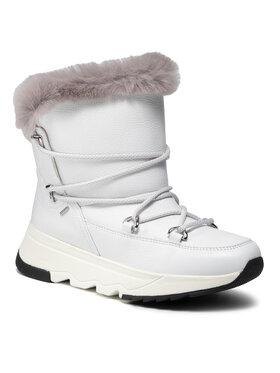 Geox Geox Sniego batai D Falena B Abx C D16HXC 046BX C0284 Balta