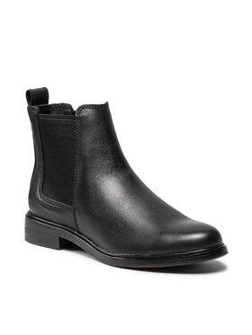 Clarks Clarks Členková obuv s elastickým prvkom Clarkdale Arlo 261547134 Čierna