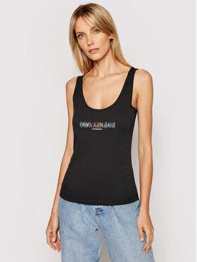 Calvin Klein Jeans Calvin Klein Jeans Top J20J217200 Czarny Regular Fit