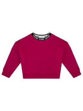 Calvin Klein Jeans Calvin Klein Jeans Pulóver Intarsia Logo IG0IG01009 Rózsaszín Oversize Fit