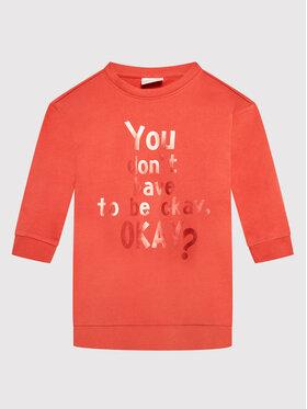 Coccodrillo Coccodrillo Kleid für den Alltag ZC1129103EVG Orange Regular Fit