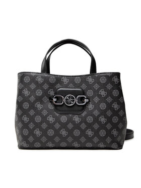 Guess Guess Дамска чанта Hansely Logo HWPM83 78070 Черен