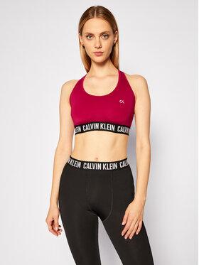 Calvin Klein Performance Calvin Klein Performance Biustonosz top Medium Support 00GWF0K154 Fioletowy