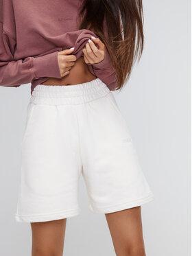 Sprandi Sprandi Sportske kratke hlače SS21-SHD002 Bijela Regular Fit
