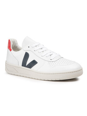 Veja Veja Sneakers V-10 Leather VX021267 Bianco