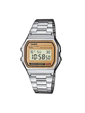Casio Casio Laikrodis Vintage A158WEA-9EF Sidabrinė