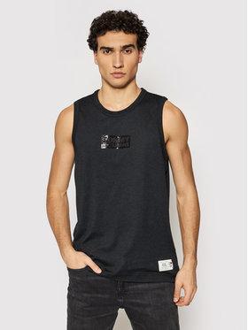 Tommy Jeans Tommy Jeans Tank top marškinėliai Tonal Box Logo DM0DM10273 Juoda Regular Fit