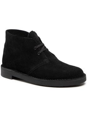 Clarks Clarks Kotníková obuv Bushacre 3 261635277 Černá