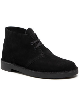 Clarks Clarks Šnurovacia obuv Bushacre 3 261635277 Čierna