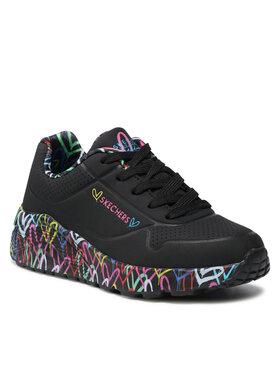 Skechers Skechers Sneakersy Lovely Luv 314976L/BKMT Czarny