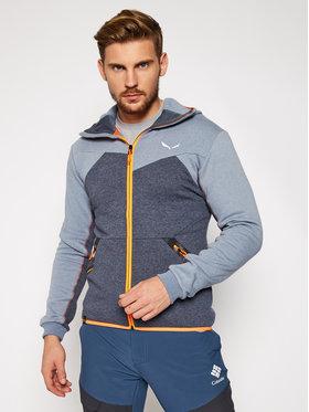 Salewa Salewa Techninis džemperis Solid Logo Dry 27404 Pilka Athletic Fit
