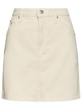 Calvin Klein Jeans Calvin Klein Jeans Jupe en jean High Rise J20J215434 Beige Slim Fit
