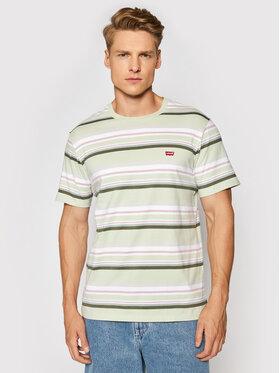 Levi's® Levi's® T-Shirt Original Hm 56605-0098 Grün Standard Fit