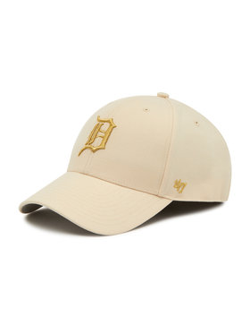 47 Brand 47 Brand Baseball sapka Detroit Tigers Metallic Snap B-MTLCS09WBP-NT Szürke