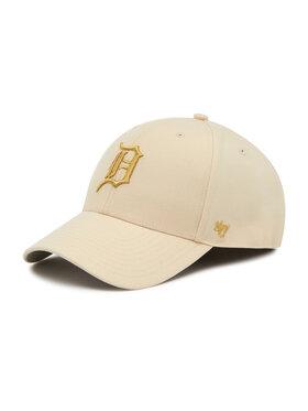 47 Brand 47 Brand Șapcă Detroit Tigers Metallic Snap B-MTLCS09WBP-NT Gri