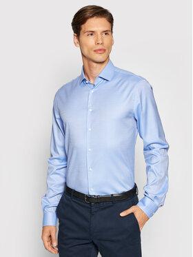 Tommy Hilfiger Tailored Tommy Hilfiger Tailored Košile TT0TT01941 Modrá Slim Fit